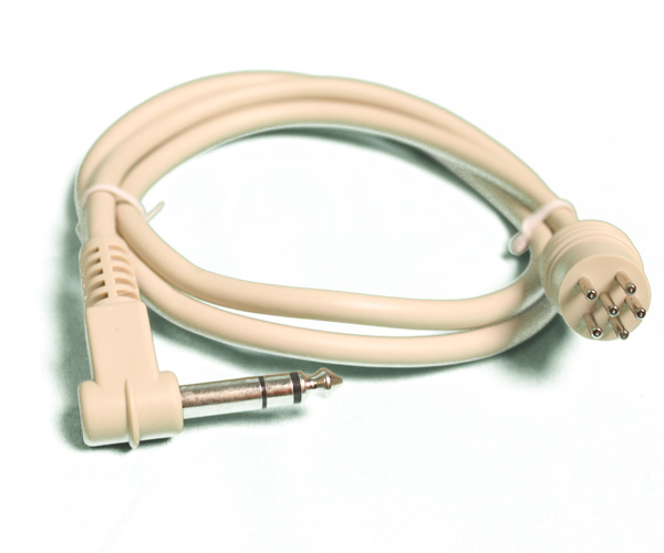 Jumper Cable - 6-Pin Male to 1/4″ Male