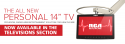 """New 14"""" Personal TV"""