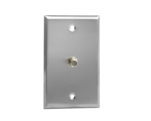 RF Connector Wall Plate